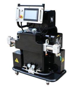 hidraulikus szórógép